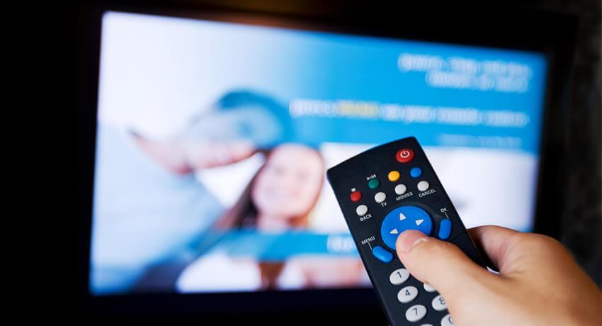 Изменение каналов телевидения