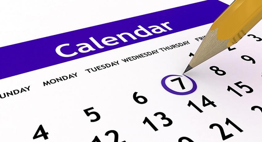График работы на майские праздники 2012