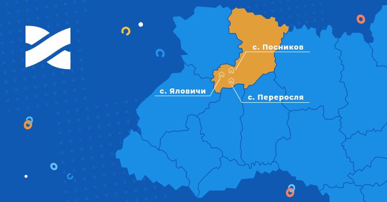 Скоростной Интернет и ТВ от Сети Ланет в селах на Ровенщине