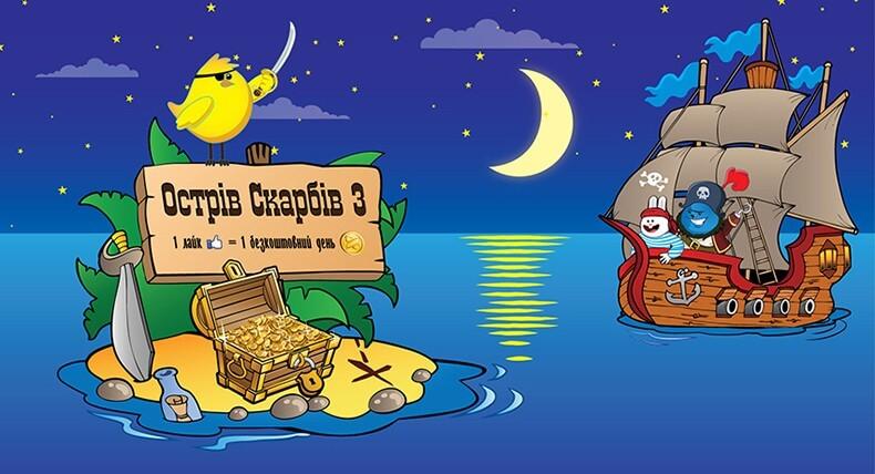 «Острів Скарбів 3»