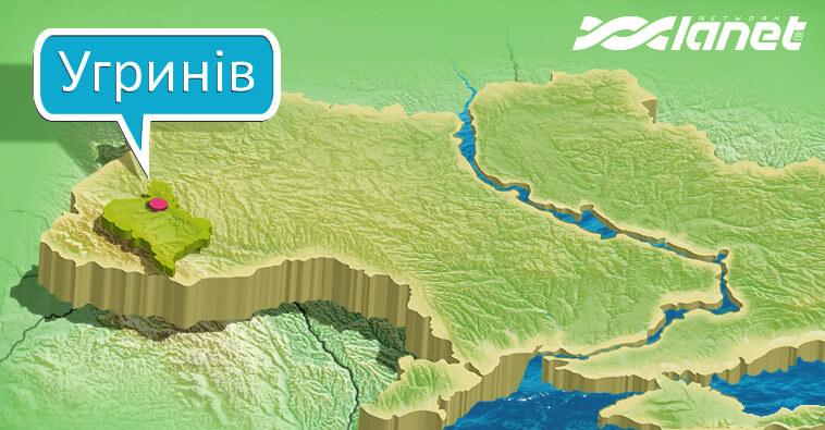 Мережа Ланет в Прикарпатті