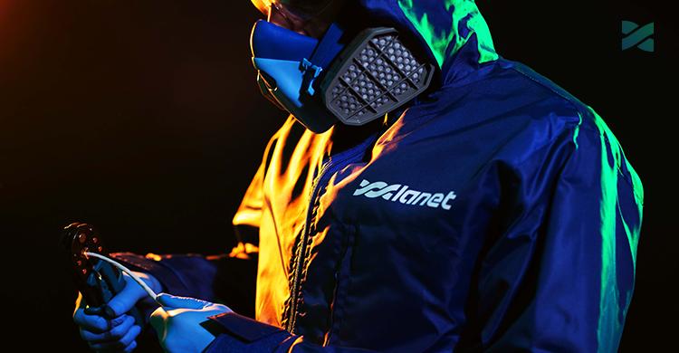 Мережа Ланет забезпечує співробітників спеціальними засобами індивідуального захисту