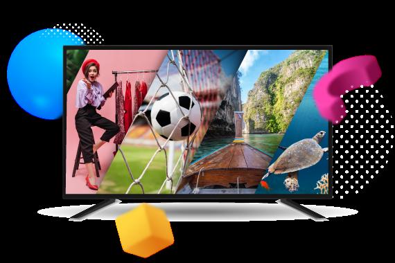 Акция на обновленное телевидение