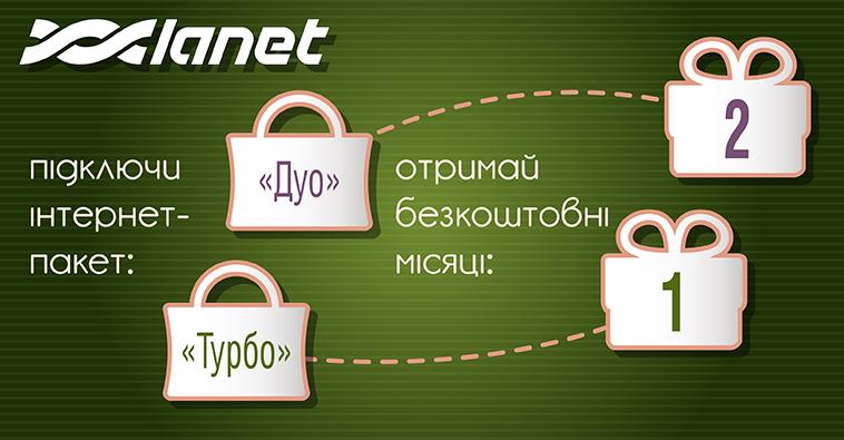 Акція Канікули з Ланет від інтернет-провайдера Кам'янця-Подільського